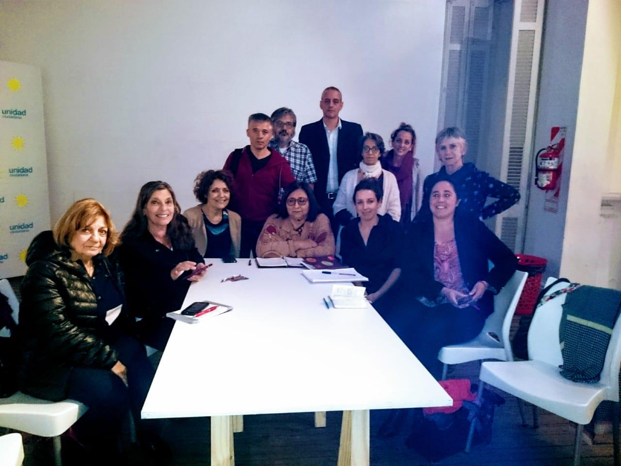 Reunión de la Comisión de DDHH con Horacio Pietragalla