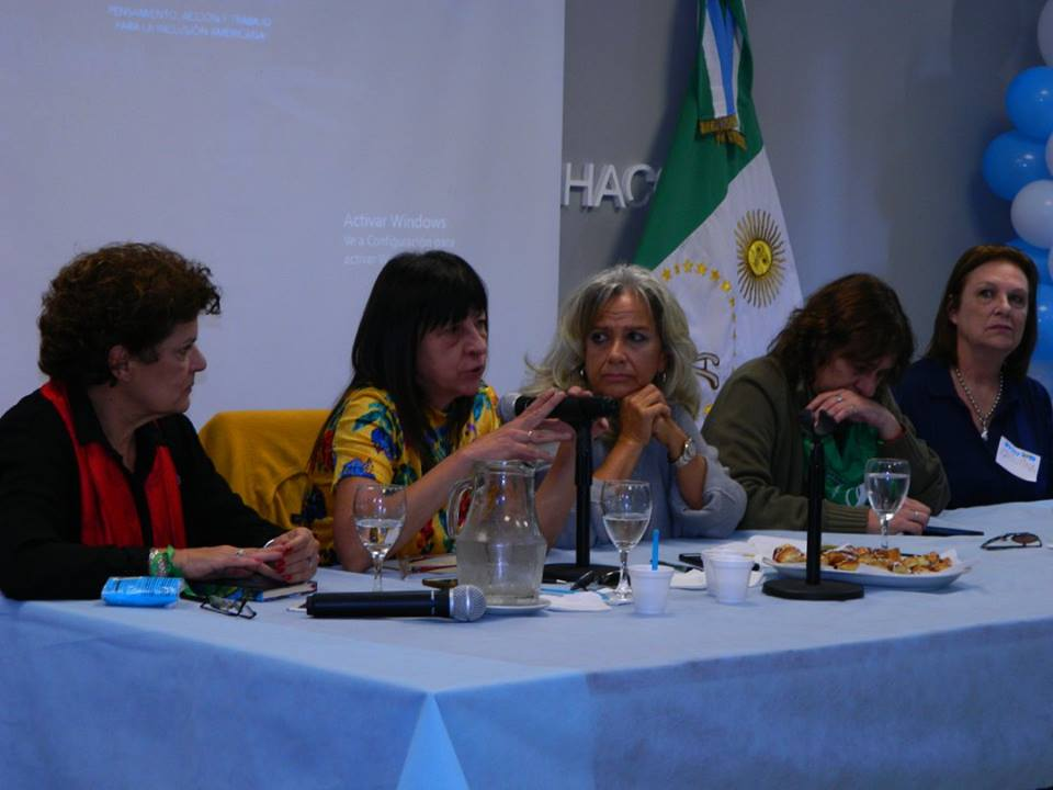 """""""Resistencia feminista popular"""" en Resistencia, Chaco."""