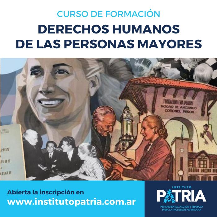 Curso de Formación en Derechos Humanos de las Personas Mayores