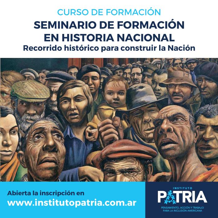 Seminario de Formación en Historia Nacional