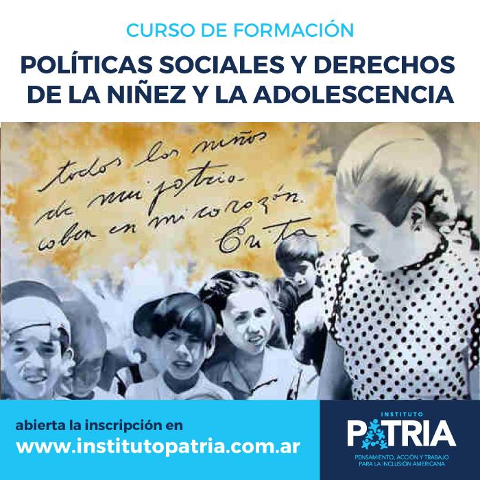 Curso Políticas sociales y derechos de niños, niñas y adolescentes