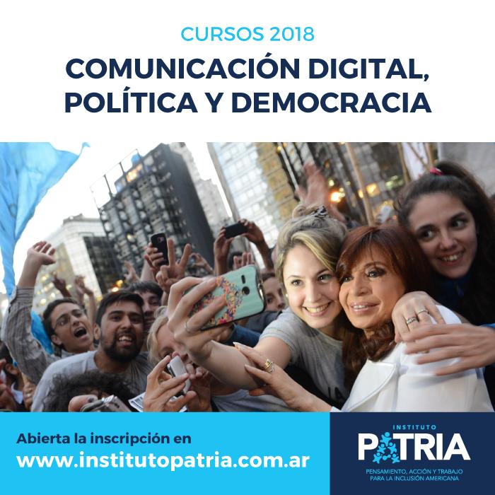 Seminario Comunicación Digital, Política y Democracia en CÓRDOBA