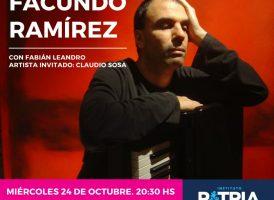 Miércoles 24 de Octubre. Facundo Ramírez en el Instituto PATRIA