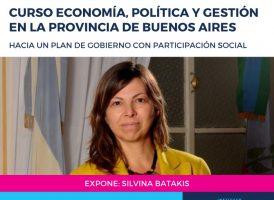 Silvina Batakis en el cierre del curso Economía, Política y Gestión