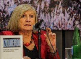 Chantal Mouffe visitó el Instituto Patria