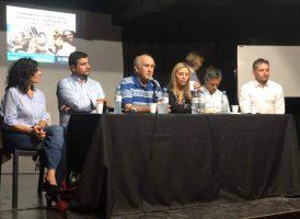 Oscar Parrilli en la apertura del curso Comunicación Digital, Política y Democracia en Rosario
