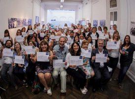 Entrega de certificados del Curso de Políticas Sociales y Derechos de la Niñez y Adolescencia