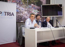 Rossi, Rubinzal y Heller encabezaron la última presentación editorial del año