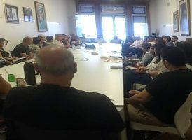 Reunión con nuevos integrantes de la comisión Estado y Administración Pública