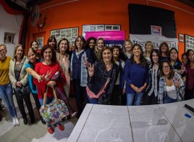 Comenzó el Seminario de Peronismo y Feminismo en Luján