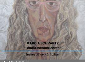Marcia Schvartz en el Instituto Patria