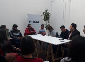 Reunión del área de pueblos originarios de la Comisión de Inclusión y Desarrollo Social