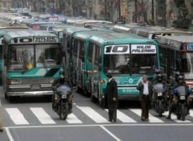 Provincias y municipios a cargo de los subsidios al Transporte Público Automotor