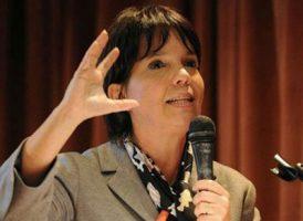 Mercedes Marcó del Pont en la apertura del Seminario Ciencia y Tecnología para el Desarrollo Inclusivo II