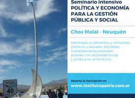 Seminario Intensivo Política y Economía para la Gestión Pública y Social.