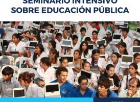 Seminario intensivo sobre Educación Pública. Abierta la inscripción.