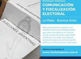Seminario Intensivo Comunicación y Fiscalización Electoral