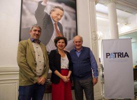 Oscar Parrilli con autoridades del CIPPEC