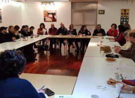 La comisión de Derechos Humanos organizó un encuentro de cara a la campaña