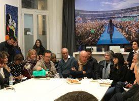 Reunión de coordinadores de las comisiones Patria