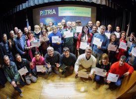 Se entregaron los certificados del «Seminario Intensivo Soberanía y Derechos Energéticos»