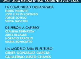 Jornada «El acuerdo social en el gobierno de Antonio Cafiero»