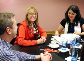 La Comisión de Inclusión y Desarrollo Social se reunió con  Alicia Kirchner