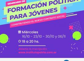 Seminario de formación política para jóvenes