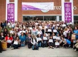 """La Comisión de Mujeres y Géneros participó de la jornada """"Reflexionamos"""" del municipio de Ituzaingó"""