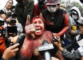 Repudiamos la violencia política contra las mujeres en lucha de la Patria Grande