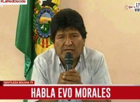 Bolivia: Exigimos la restitución del Estado de derecho y el cese de la violencia