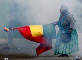 El feminismo se involucra en los procesos populares. En Bolivia hay un golpe de Estado.
