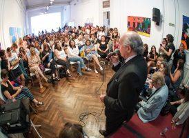 Oscar Parrilli en los cierres anuales de las comisiones Patria