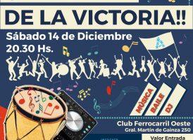 Sábado 14/12: El Patria cierra el año con una peña