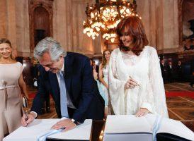 El Instituto Patria saluda a Alberto Fernández y Cristina Fernández de Kirchner