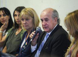 Parrilli encabezó la primera reunión de trabajo de las comisiones Patria