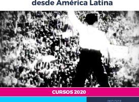 Alcira Argumedo, Ricardo Forster, Carlos Raimundi y Darío Sztajnszrajber en el Seminario de Historia de las Ideas Políticas