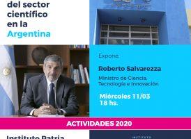 Charla abierta: Reconstrucción del sector científico en la Argentina