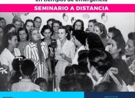 Seminario a distancia PERONISMO Y FEMINISMO EN TIEMPOS DE EMERGENCIA