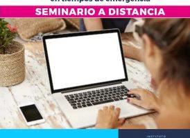 Seminario a distancia: IDEAS POLÍTICAS EN TIEMPOS DE EMERGENCIA