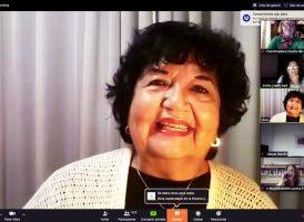 Dora Barrancos dio la primera clase del Seminario Virtual sobre Feminismo y Peronismo
