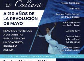 PATRIA ES CULTURA: recital a beneficio de nuestrxs artistas