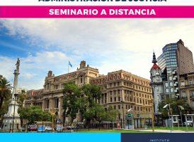 Seminario intensivo: INTRODUCCIÓN A LA ADMINISTRACIÓN DE JUSTICIA