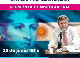 Mario Oporto en charla abierta de la comisión de Educación