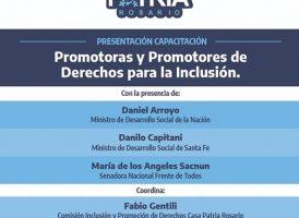 Casa Patria Rosario: capacitación de promotorxs de derechos para la inclusión