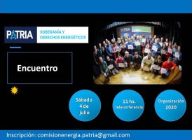 Plenario de la Comisión Soberanía y Derechos Energéticos
