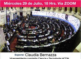 Plenario de la comisión Ciencia y Tecnología: el rol del Poder Legislativo