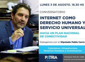 Internet como Derecho Humano y Servicio Universal
