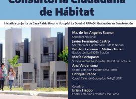 Lanzamiento de la CONSULTORÍA CIUDADANA DE HÁBITAT