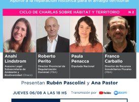 Ciclo de charlas HÁBITAT Y TERRITORIO